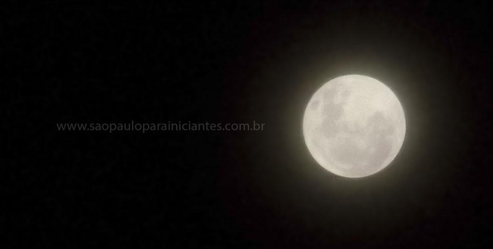 Lua cheia maravilhosa da sexta feira santa 2012