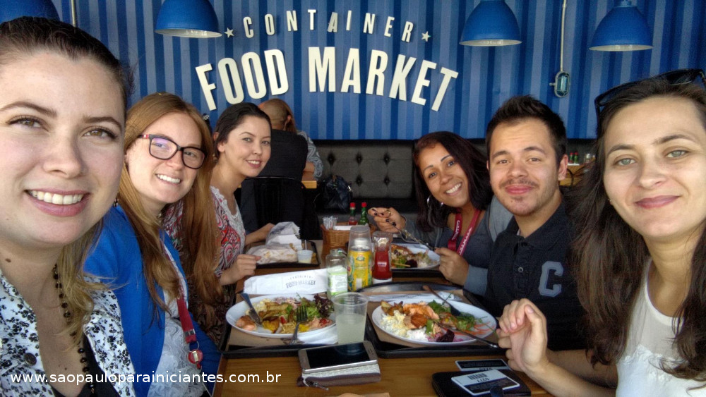 container food market