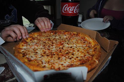 pizza - foto de /sonhosobscuros