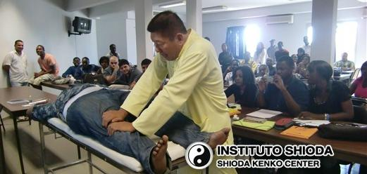Massagem Mestre Shioda